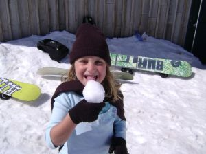 Geraldine se sneeu roomys